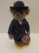 PICKFORD Brass Button Bears BAXTER the 1900s Gangster Bear with tag Stand