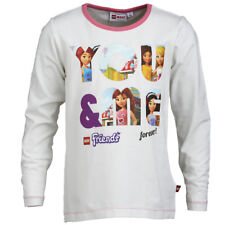 LEGO WEAR de manga larga Camiseta Chica FRIENDS blanco para Talla 122-140