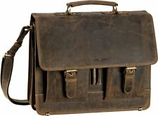 Greenburry Vintage Aktenmappe Aktentasche Leder Herrentasche Businesstasche