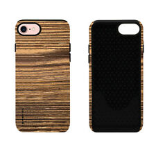 iSweven printed Shade Of Brown design 2in1 back cover for Apple iPhone 7
