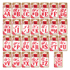 Leonie Pujol Typography Metal Die Letter Set - Letters A - Z or Suffix