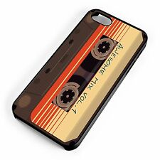 Guardians Of The Galaxy Awesome Mix Tape Cassette iPhone Range Hard Cover Case