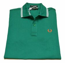 Polo T-shirt Maglia Uomo Men Fred Perry Made Italy Stretch Slim Fit 3094