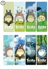 New Japanese Anime Manga Studio Ghibli My Neighbour Totoro 8 PVC Bookmarks