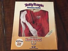 Teddy Ruxpin Flying Adventure Bear Outfit New In Box Worlds of Wonder Clothes