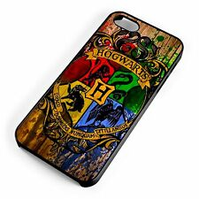 Hogwarts Crest Harry Potter Witchcraft Wizardry iPhone Range Phone Cover Case*