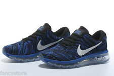 Imported Nike Airmax Shoes Blue Striped Air Max 2017 Shoes for Men