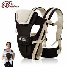 0-30 Months Breathable Front Facing Baby Carrier 4 in 1 Infant Comfortable Sling