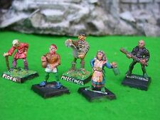 WARHAMMER FANTASY ROLE-PLAY, VILLAGERS & TOWNSFOLK, PAINTED, MULTI-LISTING