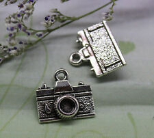 20/60pcs 14.5x13mm Lovely delicate camera heavy charm pendant antique silver