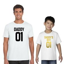 Fathers day gifts | No.1 Daddy's Boy T-shirts, Gift for dad