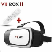 3D VR BOX 2.0 Virtual Reality Glasses Headset and VR Remote ★HQ
