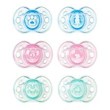 Tommee Tippee Air Style Soothers 6-18 months Boys/Girls - CHOICE OF DESIGN (A18)