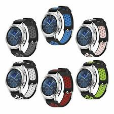 22MM Silicona Watch Band Deporte Correa Para Samsung Gear S3 Frontier & Classic