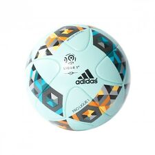 Ballon adidas Pro Ligue1 OMB White-Cyan-Yellow