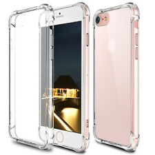 """For iPhone 6s Plus 6+ 5.5"""" Case Clear Hybrid Shockproof TPU Bumper Back Cover"""