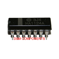 HA1124A Television Sound, IF Amplifier, FM Discriminator, Audio Amplifier PDIP14