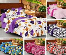 Casa Basics - Ezy Collection 144TC Cotton Double Bedsheet With 2 Pillow Covers