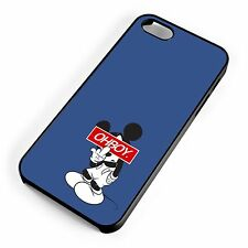 Mickey Mouse Minimalism Oh Boy Obey Parody Quirky iPhone Range Phone Cover Case