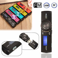 LCD Screen USB Mp3 Music Player FM Radio Support 16GB Micro SD TF Card with Earp