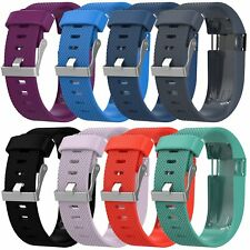 L/S Silicone Watch Wrist Band Strap Sports For Fitbit Charge HR Tracker + Tool