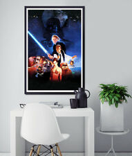 """STAR WARS Return of the Jedi 1980's VHS Box POSTER! - (up to 24"""" x 36"""") - Print"""