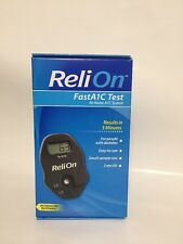 ReliOn FastA1C Test At-Home A1C System for diabetes. New Sealed Box
