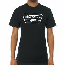 VANS COMPLETO PARCHE SS BLANCO NEGRO 2017 CAMISETA S M L XL SKATE NUEVO SURF TEE