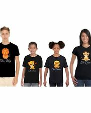 The Lion King and Queen Family T-shirts By Giftsmate