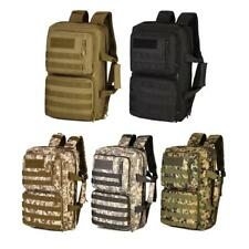 35L Multifunction Tactical Military Molle Backpack Waterproof Travel Bag Daypack