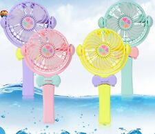 PORTABLE POCKET MINI FAN COOL AIR HAND HELD BATTERY TRAVEL BLOWER COOLER NEW
