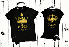 King & Queen T-shirts for Two