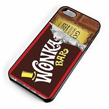 Wonka Chocolate Bar Golden Ticket Film Candy Bar iPhone Range Phone Cover Case
