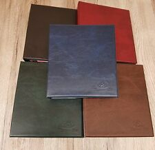 Crown Coin Collectors Album With 10 Pages and Dividers - Holds over 220 Coins