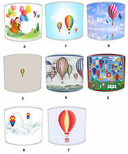 Children`s Hot Air Balloons Lampshades Ideal To Match Hot Air Balloon Pillows.