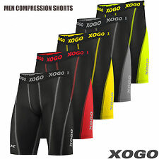 Pro Men's MMA Thermal Compression Shorts Flex Base Layers Sports Boxing Exercise
