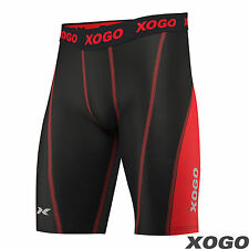 Pro Mens Compression Shorts Sports Briefs skin tight fit gym pants Base layers