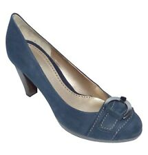 Gabor Nubuk Soft Damen Pumps atlantik