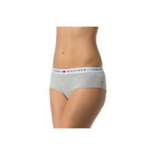 Tommy Hilfiger Womens Cotton Iconic Shorty Brief  - Grey