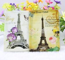 Vintage Style Paris Holiday Eiffel Tower Cute Passport Cover Travel ID Holder