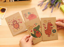 Cute Animals Mini Notebooks Small Notepads Lined Page Notes Pad Pocket Memo Pads