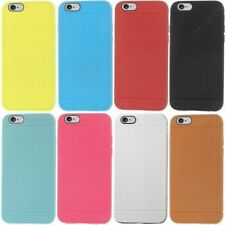 Heartly Retro Dotted Youth Edition Soft TPU Matte Bumper Back Case Cover - Apple