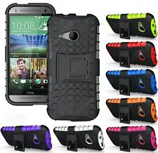 Heartly Flip Kick Stand Spider Hard Dual Armor Back Case Cover HTC One M8 Mini 2
