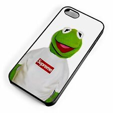 Kermit The Supreme Frog Pop Art NYC Muppets Masked iPhone Phone Range Cover Case
