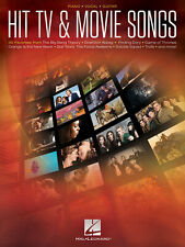 Hit TV & Movie Songs Piano, Voice, Guitar Sheet Music Mixed Songbook
