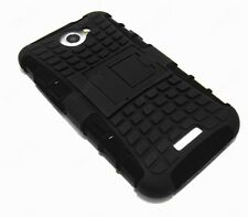Heartly Flip Kick Stand Spider Armor Bumper Back Case Cover - HTC One X X+ S720E