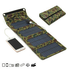 0232 7W 5.5V Portable Folding Solar Panel USB Charger Mobile Power Source For Ce