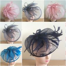 Elegant Headband and Clip Hat Fascinator Weddings Ladies Day Race Royal Ascot