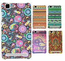 Heartly Aztec Print Tribal Style Thin Hard Bumper Back Case Cover - Vivo X5 Max
