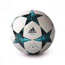 Pallone adidas Finale 17 Capitano White-Black-Deep blue sea